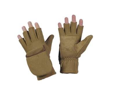 M-Tac перчатки беспалые с клапаном Windblock 295 Tan