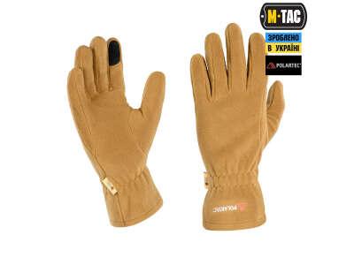 M-Tac перчатки Winter Polartec Coyote