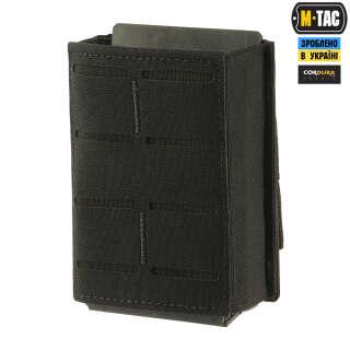 M-Tac подсумок для магазина на резинке (10 см) Laser Cut Black