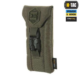 M-Tac подсумок для смартфона Elite Large Hex Ranger Green