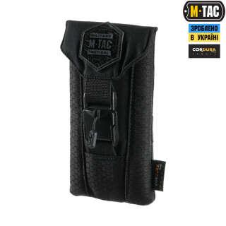 M-Tac подсумок для смартфона Elite Medium Hex Black