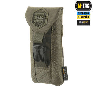 M-Tac подсумок для смартфона Elite Medium Hex Ranger Green