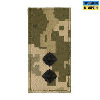 M-Tac погон МО Лейтенант на липучці ММ14