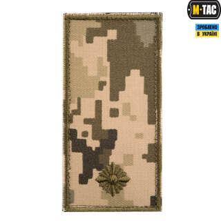 M-Tac погон МО Младший лейтенант на липучке ММ14