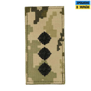 M-Tac погон МО Старший лейтенант на липучці ММ14