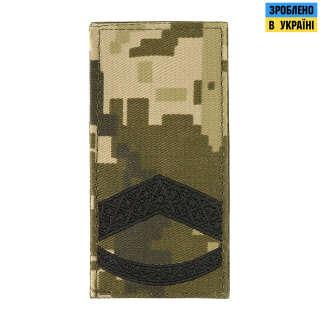 M-Tac погон МО Старший прапорщик на липучці ММ14