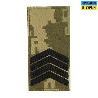 M-Tac погон МО Старший сержант (4 лички) на липучці MM14