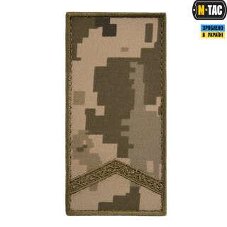 M-Tac погон МО Старший солдат на липучке ММ14