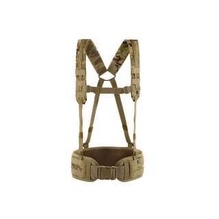 M-Tac пояс тактичний з плечовими ременями Scout Multicam