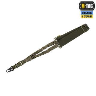 M-Tac ремень оружейный одноточечный эластичный Ranger Green