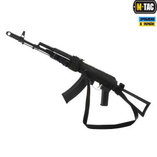 M-Tac ремінь збройовий триточковий Black