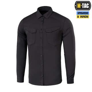 M-Tac сорочка Aggressor Flex Black