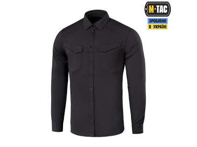 M-Tac рубашка Aggressor Flex Black
