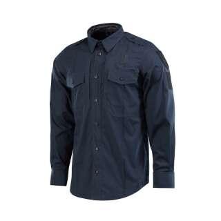 M-Tac сорочка Police Elite Flex рип-стоп Dark Navy Blue