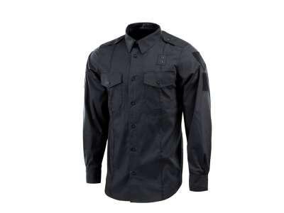 M-Tac сорочка Police Lightweight Flex рип-стоп Black