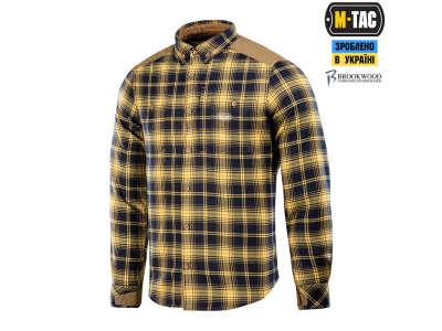 M-Tac рубашка Redneck Shirt Navy Blue/Yellow