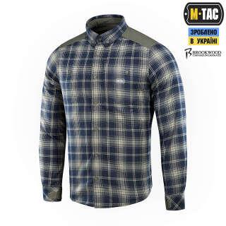 M-Tac сорочка Redneck Shirt Olive/Navy Blue