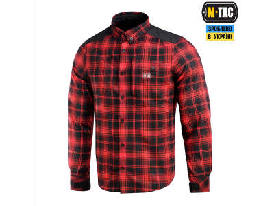 M-Tac рубашка Redneck Shirt Red/Black