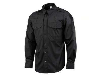 M-Tac сорочка Police Elite Flex рип-стоп Black