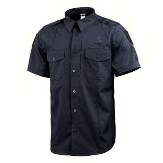 M-Tac сорочка з коротким рукавом Police Flex рип-стоп Dark Navy Blue