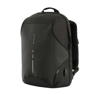M-Tac рюкзак Urban Line Anti Theft Shell Pack Dark Grey/Black