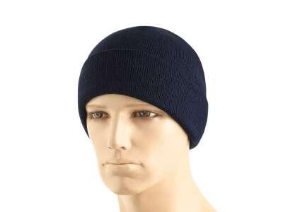 M-Tac шапка тонкая вязка 100% акрил Dark Navy Blue