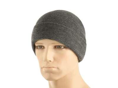 M-Tac шапка тонкая вязка 100% акрил Grey