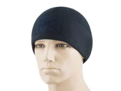 M-Tac шапка Watch Cap Elite флис (270г/м2) с липучкой Dark Navy Blue