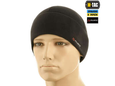 M-Tac шапка Watch Cap флис Light Polar Black
