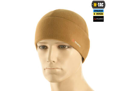 M-Tac шапка Watch Cap флис Light Polar Coyote