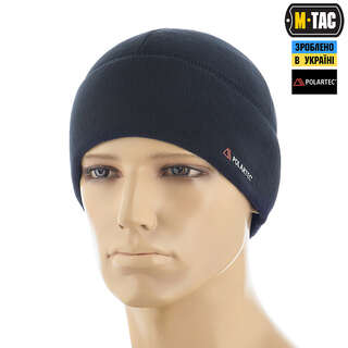 M-Tac шапка Watch Cap флис Light Polar Dark Navy Blue