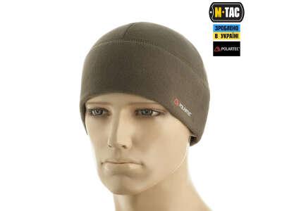 M-Tac шапка Watch Cap флис Light Polar Dark Olive
