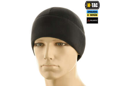 M-Tac шапка Watch Cap флис Light Polar Gen.II Black