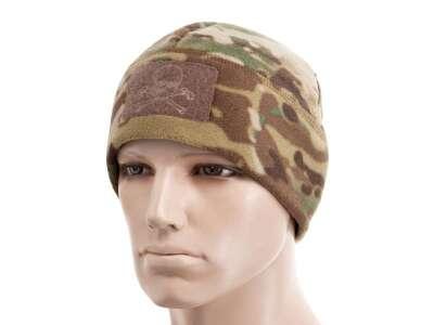 M-Tac шапка Watch Cap флис/сетка Pirate Skull Windblock 380 MC
