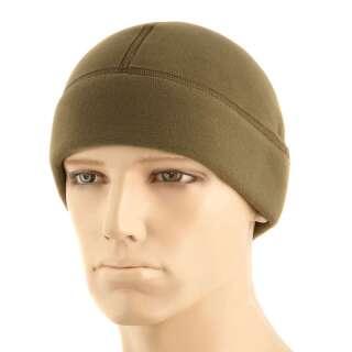 M-Tac шапка Watch Cap Premium (плоский шов) фліс (343г/м2) Dark Olive