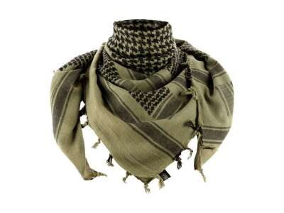 M-Tac шарф шемаг плотный Foliage Green/Black