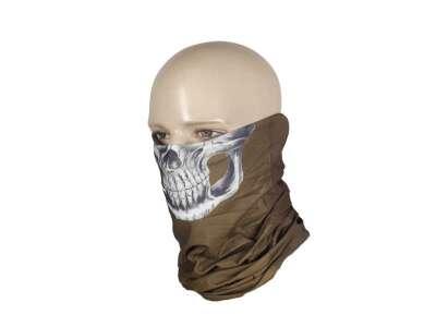 M-Tac шарф-труба полегшений Reaper Skull Coyote