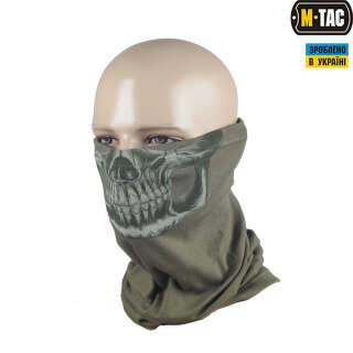 M-Tac шарф-труба Reaper Skull олива