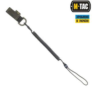 M-Tac шнур страхувальний Lite комбінований з D-кільцем олива