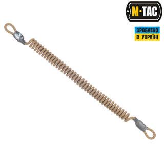 M-Tac шнур страхувальний Lite під карабін койот