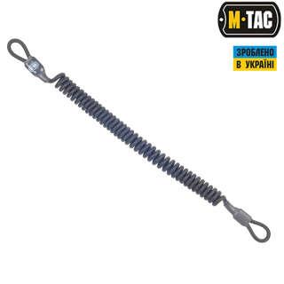 M-Tac шнур страховочный Medium под карабин черный