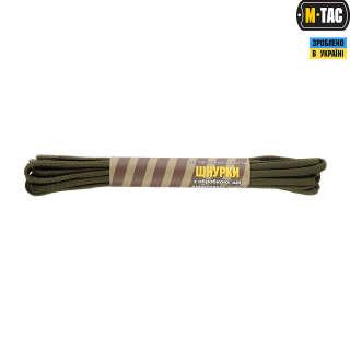M-Tac шнурки паракорд олива