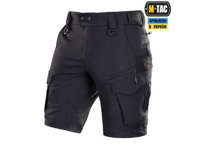 M-Tac шорты Aggressor Summer Flex Black