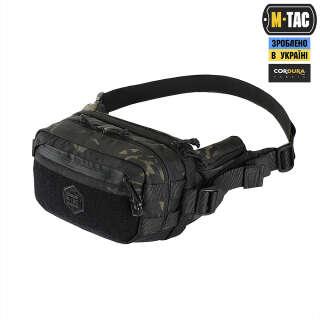 M-Tac сумка City Chest Pack Gen.II Elite Hex Multicam Black/Black
