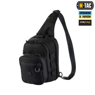 M-Tac сумка Cross Bag Elite Hex Black