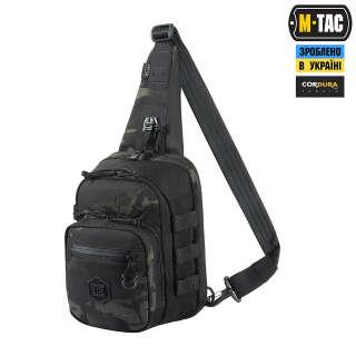 M-Tac сумка Cross Bag Elite Hex Multicam Black/Black