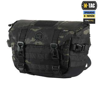M-Tac сумка Messenger Bag Elite Hex Multicam Black/Black