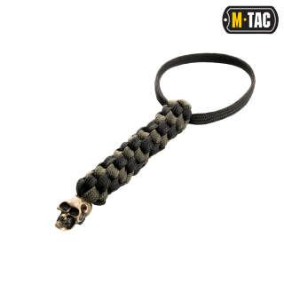 M-Tac темляк Helix Skull Black/Olive
