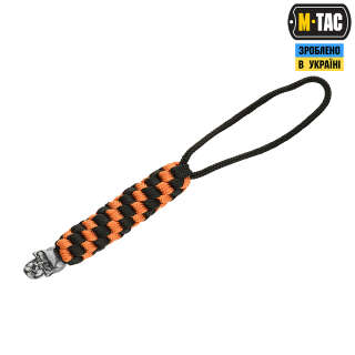 M-Tac темляк Helix Skull Black/Orange