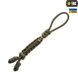 M-Tac темляк Loopy Snake Skull Olive